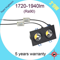 best products for import high lumen good price 2*9w cob led light