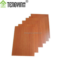 China suppliers new goods soundproofing materials cheap wood perforated acoustic interior wall panelings