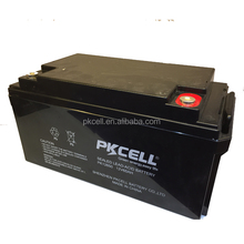 OEM 12V 65Ah AGM Solar Sealed Lead Acid Battery Rechargeable 12 Volt Deep Cycle UPS Battery