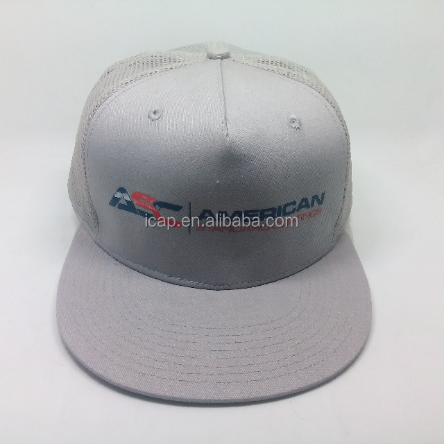 advertising promotional product custom 6 panel sports mesh trucker cap and hat