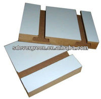 melamine both side mdf v groove panel