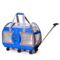 Strong Hard Pet Bag Dog Cart For Travel Pet Carry Bag