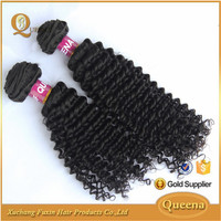 hot sale top quality 7a grade cheap kinky curly chinese hair