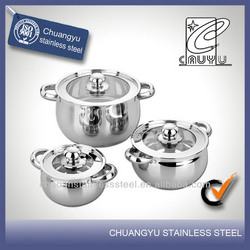 stainless steel induction saucepan handle cookware parts