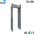 Automatically Calibration 12 zones Walk Through Metal Detector Doors Full Body Scanner for Hotels
