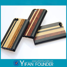 High quality cell wood pouch for iphone 5s cover