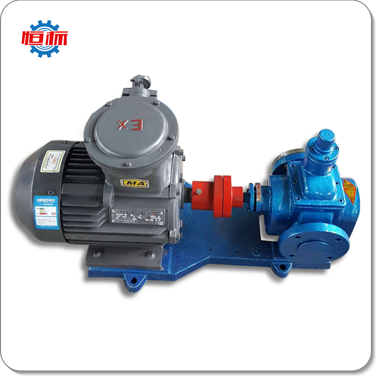 low pressure YCB self priming hydraulic oil transfer pump 110v
