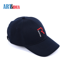 Professional manufacturer branded short brim cotton baseball cap
