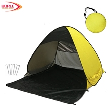 Outdoor Automatic Foldable UV Protection Pop Up Instant Quick Cabana Beach Tent