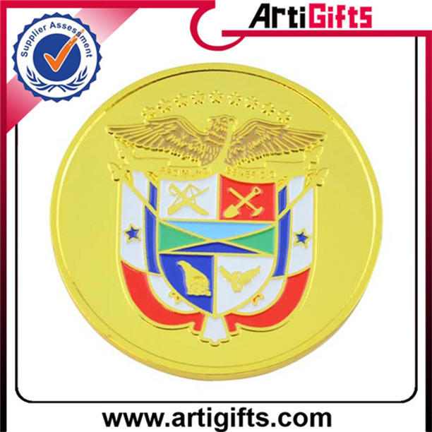 Hottest cheap metal 3d hard enamel filled metal challenge coin