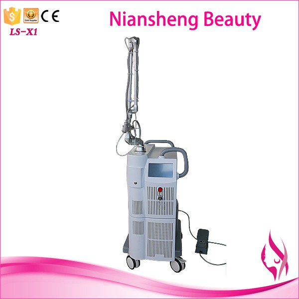 Moisturizing vagina CO2 fractional laser machine with fractional system