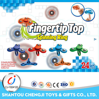 2017 new hot sale metal bearing finger hand toy game spinner