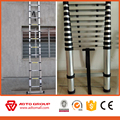 EN131 aluminum telescopic ladder/telescopic ladder/aluminium extension ladder