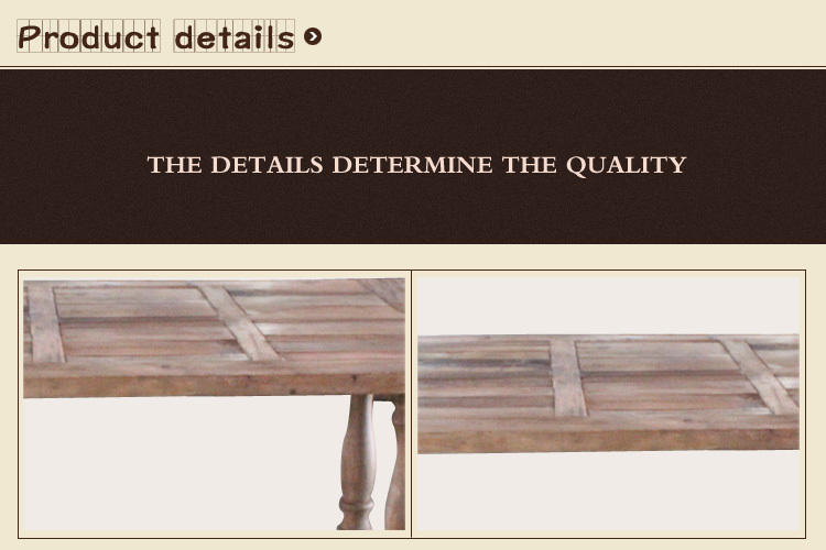 European style furniture distressed wooden console table