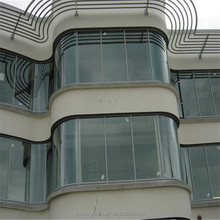Point Fixed Curtain Wall Glass