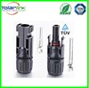 TUV/UL Cable Couplers IP67 MC4 Solar Cable DC Connectors and Contacts for Photovotaic System