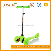 3 wheels kids mini scooter with CE cheap kick scooter for child