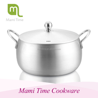 100LT Aluminium Catering Cooking Pot casserole sets