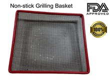 Quickachips Cooking Mesh/ Baking Sheet/ BBQ Mesh Mat