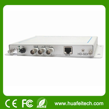 1 channel HD SDI +1 DATA video optic transmitter/fm multiplexer