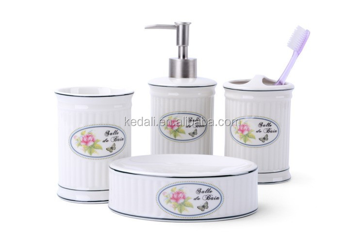 Hot sale to North America home basics porcelain bathroom collections