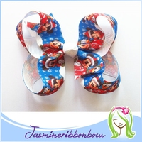 Boutique hair bow,toddler hair accessory,ribbon hair infant clip for girl hair