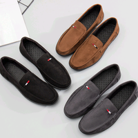 Best selling high quality slip on suede fashion design casual men shoes