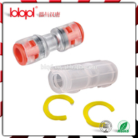 Auxiliary Tools,micro duct clear straight connector for air blowing solution