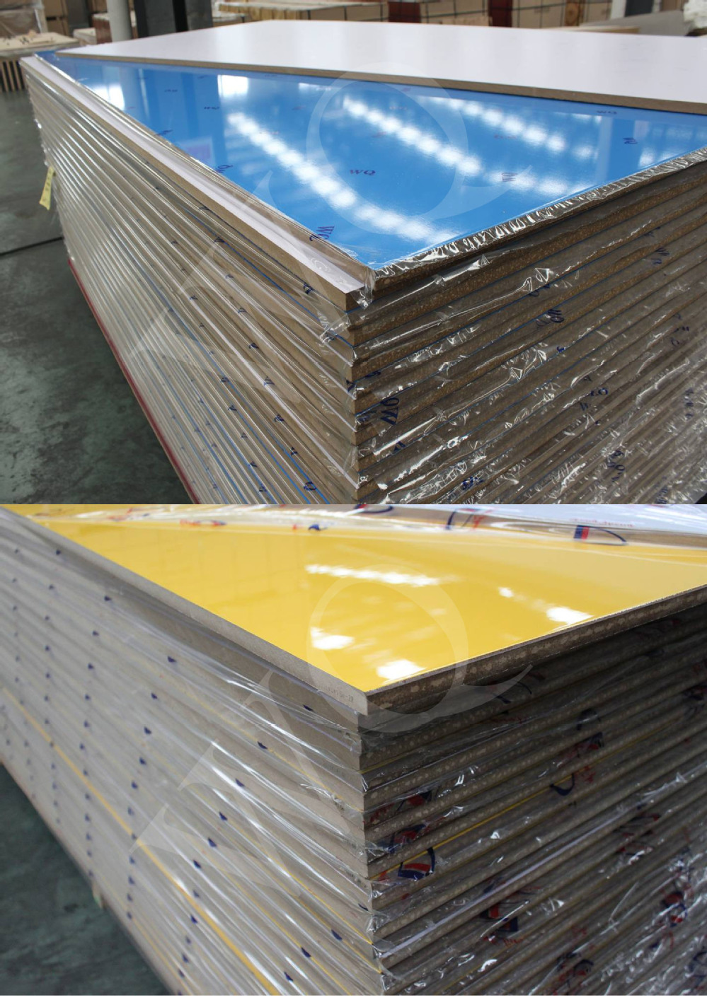 High Glossy Kitchen Cabinet UV MDF Sheet Laminated UV Coated MDF Board