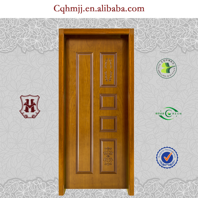 Internal panel doors with bread shaped design