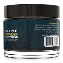 All Natural Teeth Whitening Powder -with Coconut Activated Charcoal - Safe Effective Tooth Whitener Solution-189006