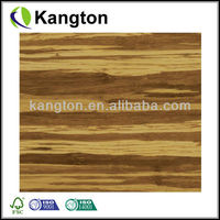 Tiger hand scraped bamboo flooring