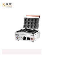 SC-HD120 Commercial Stainless steel Electric Red bean cake machine/Wheel pie for wholesale