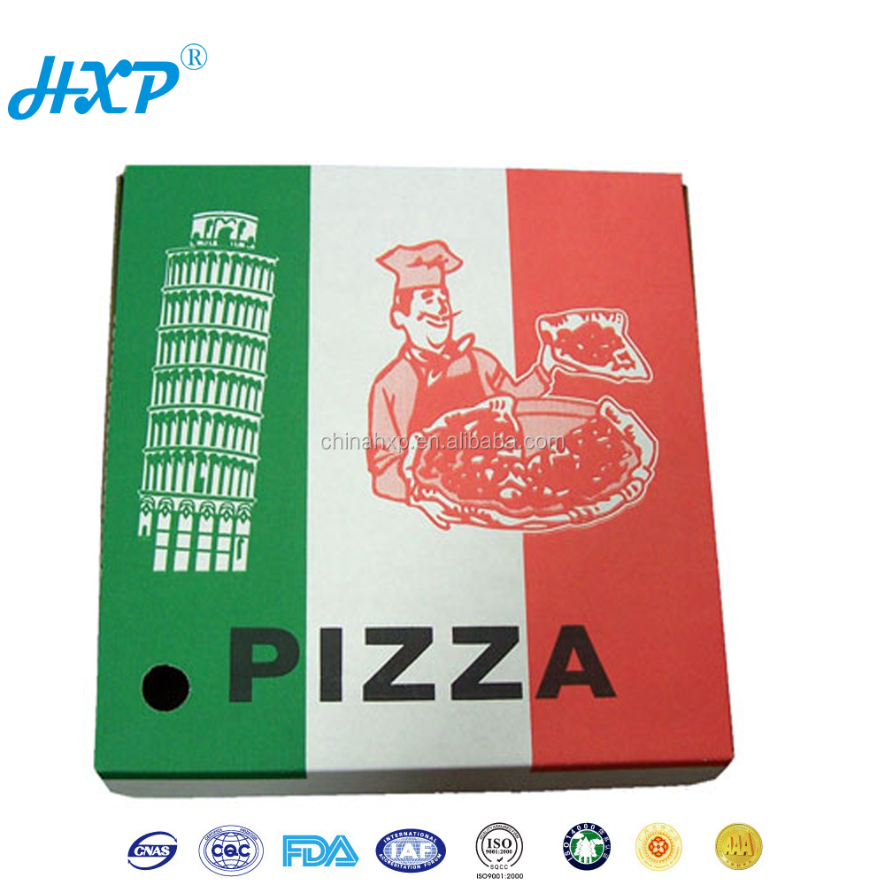 Custom Size Cheap Carton Box A Pizza