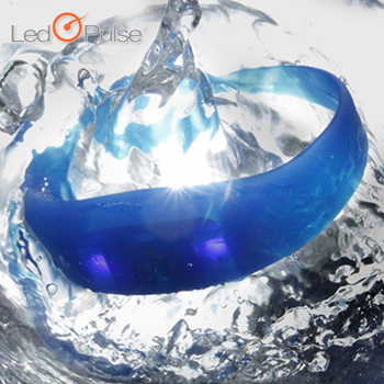 Party items waterproof motion sensor led silicon wristbands bracelets,led light silicon wristband,colorful led wristband