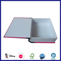 Cardboard High Quality Decorative Book Style Like Boxes