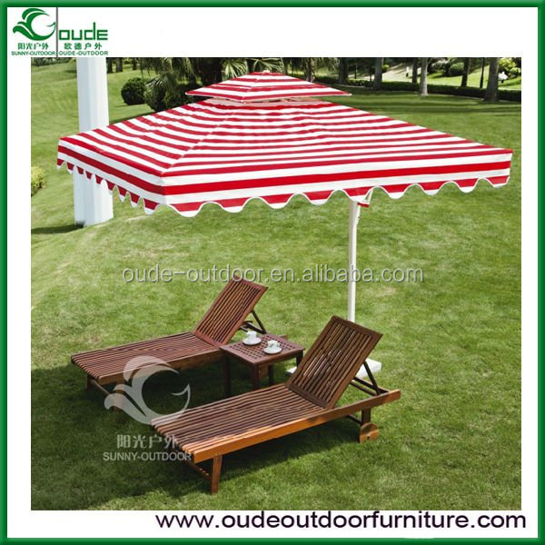 imported south American wood outdoor garden swing pool lounge