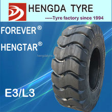 chinese otr loader tyre E3/L3 pattern Good Drawing Performance used in all kinds of mine condition
