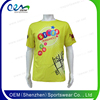 Apparel Green Color Sublimated T Shirts