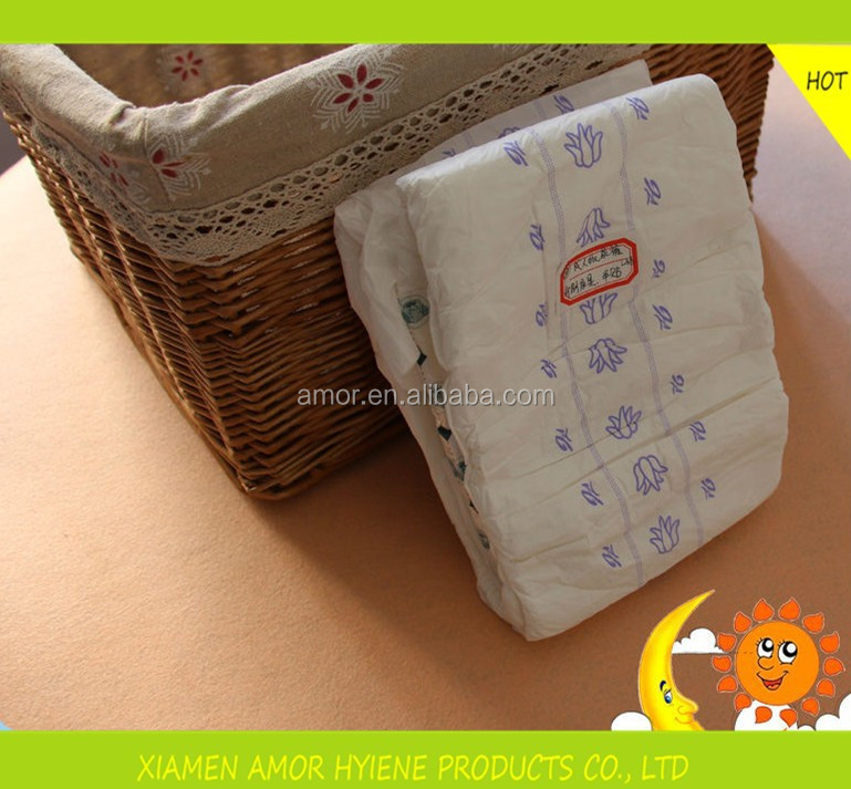 China Factory Price Free Adult Baby Diaper Sample