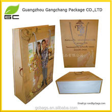 Promotional Logo Printed Packaging Shopping Bag Heat Resistant Plastic Bag Making Raw Material