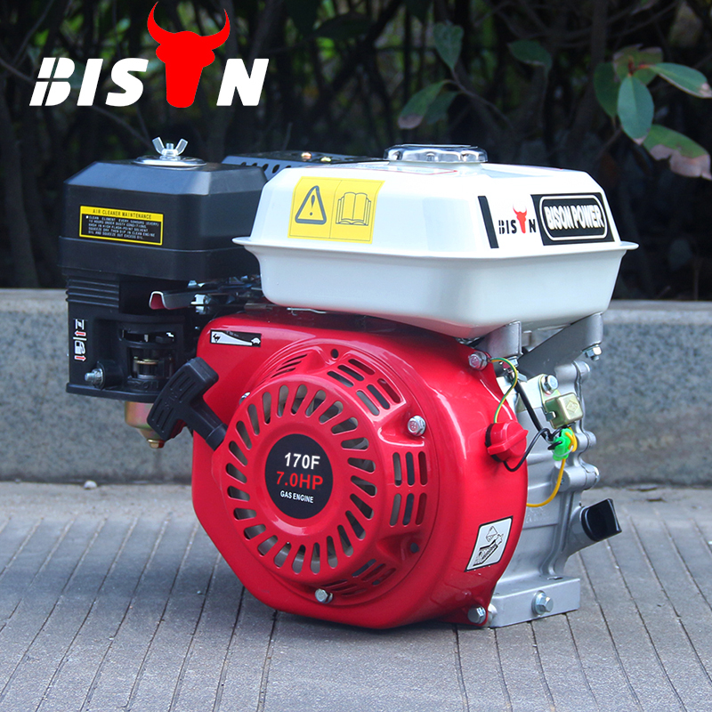 BISON(CHINA) BS170F Air-cooled 7HP 4 Stroke OHV Structure Gasoline Petrol Jet Engine