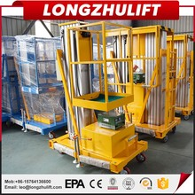 factory hot sales electric single manlifts with cheapest price
