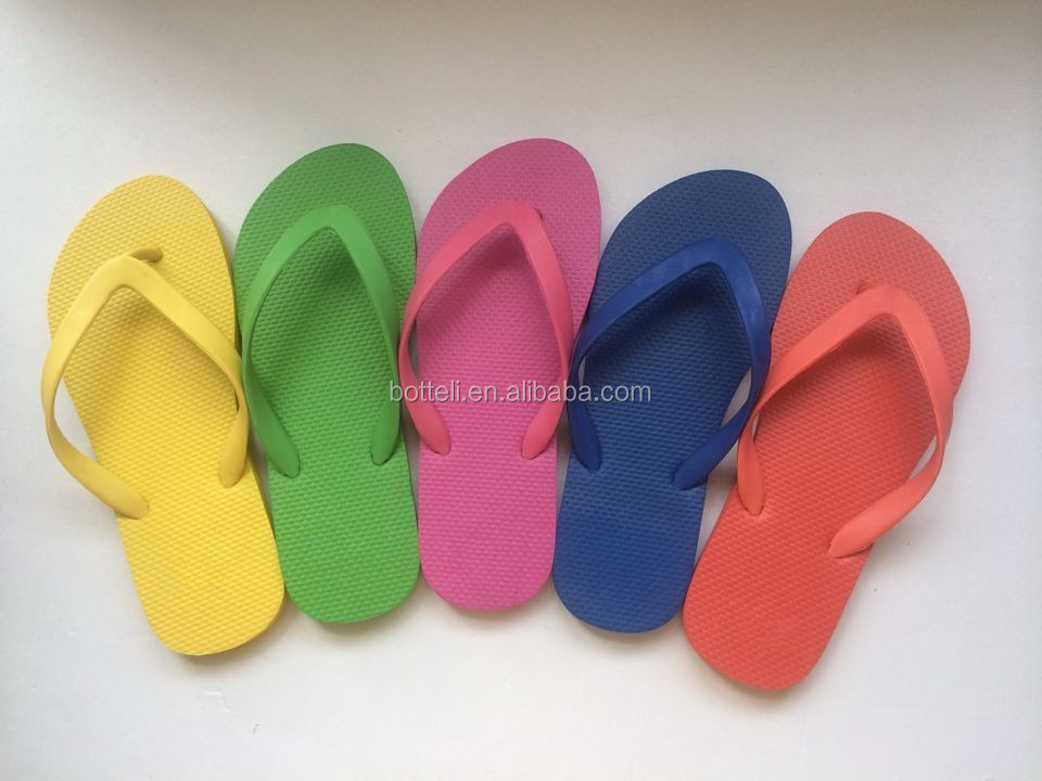 Colorful Unisex Flip flops/Factory cheap beach slipper