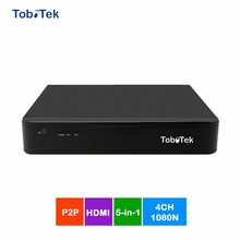 1080N 4CH Hybrid 5 in 1 XVR DVR with Hisilicon Chipset H.264 ToboTek