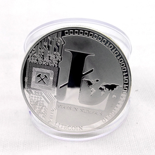 Custom gold silver litecoin coin game tokens coins souvenir coin