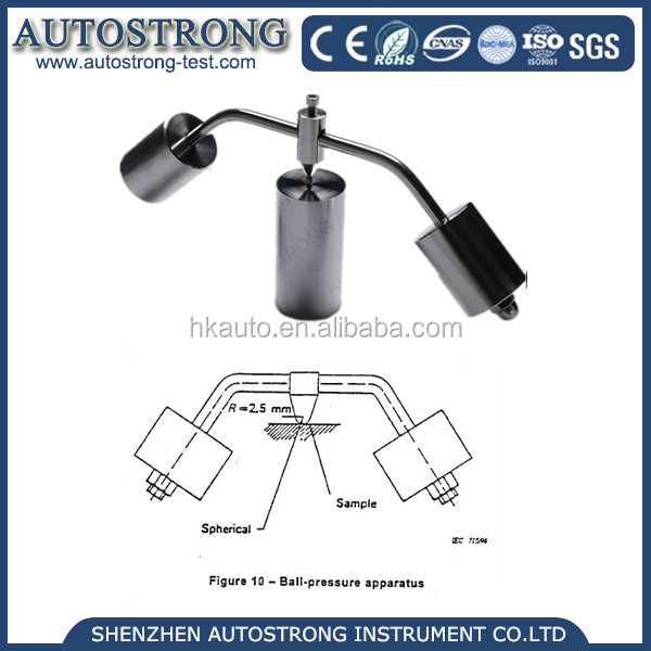 Hot Sale Electronic Ball Pressure Apparatus Plastic Hot Deformation Testing Machine