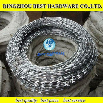 razor barbed wire safety fence wire fencing