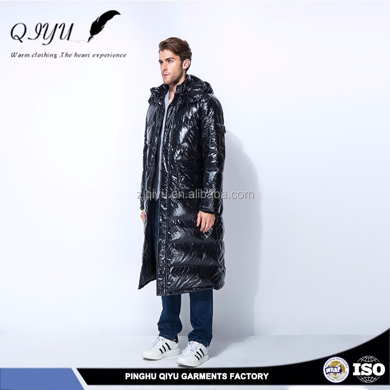 wholesale Fast supplier goose down jacket leather
