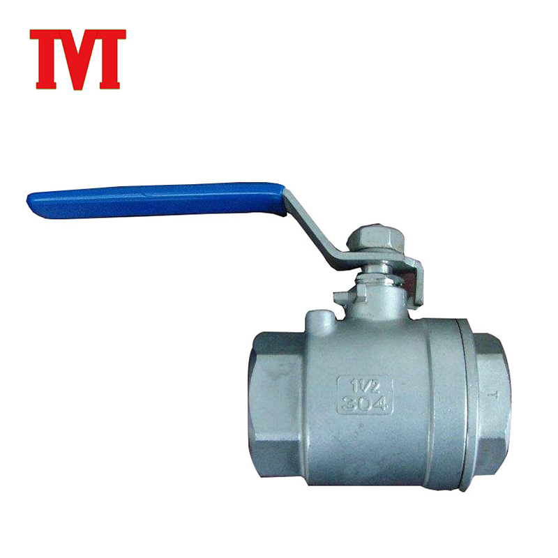 small ss316 sea flanged remote control ball valve